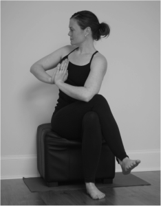 Andra's Daily Yoga: Seated Prayer Twist